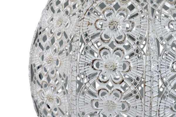 Moroccan silver table lamp Ibiza