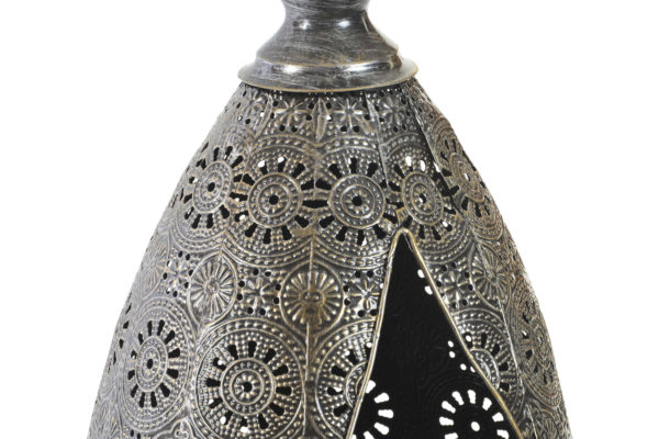 Moroccan Silver Candle Holder Ibiza