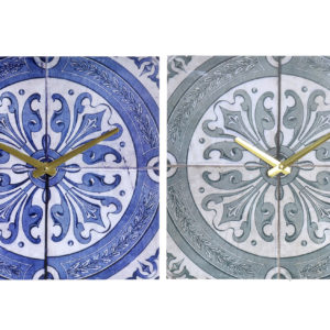 Spanish Tile Clock MDF Ibiza