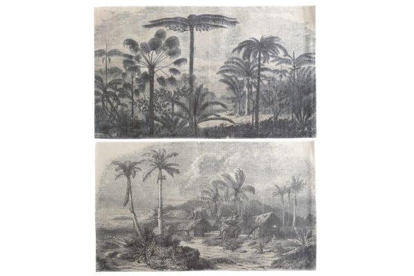 Colonial Palm Rug Ibiza