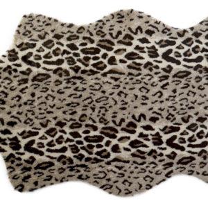 faux leopard rug Ibiza