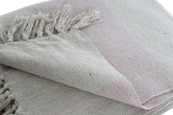 Boho Pink blanket throw Ibiza